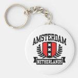 Amsterdam Key Chain