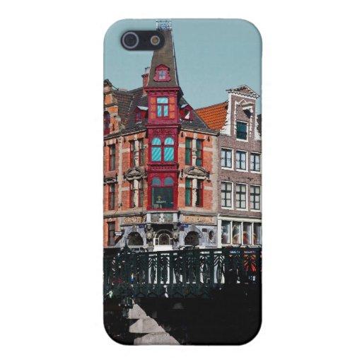 Amsterdam - Leidsestraat - Keizersgracht iPhone 5 Carcasa