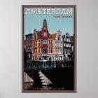 Amsterdam - Leidsestraat - Keizersgracht Poster