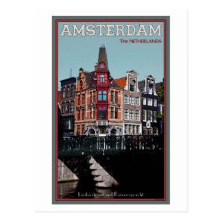 Amsterdam - Leidsestraat - Keizersgracht Postal