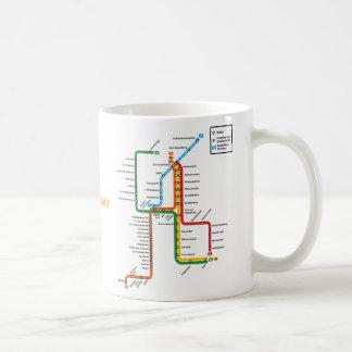 Amsterdam metro Mug