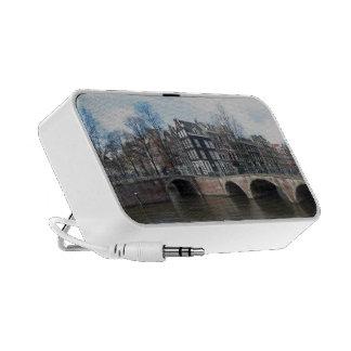 Amsterdam Mini Travel Speakers