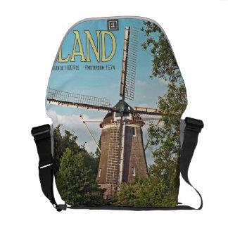 Amsterdam - molino de viento de las huevas del De  Bolsas De Mensajería
