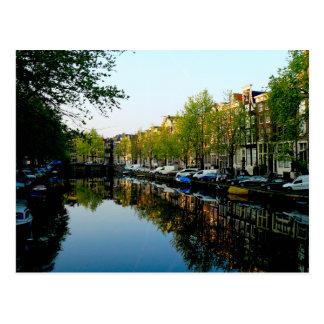 Amsterdam Mornings Post Card