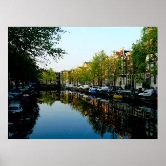 Amsterdam Mornings Poster