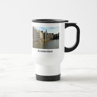 Amsterdam, Netherlands 15 Oz Stainless Steel Travel Mug