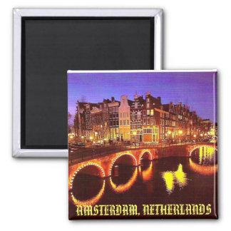 AMSTERDAM, NETHERLANDS REFRIGERATOR MAGNETS