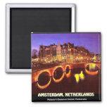 AMSTERDAM, NETHERLANDS, mojisola a gbadamosi okubu Refrigerator Magnets