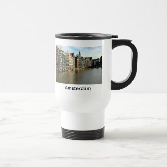 Amsterdam, Netherlands Travel Mug