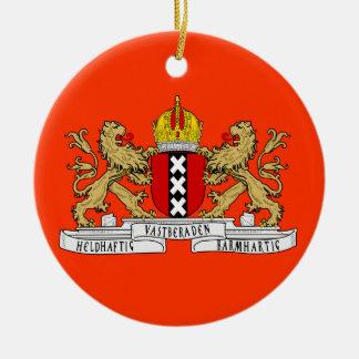 Amsterdam Netherlans Custom Christmas Ornament