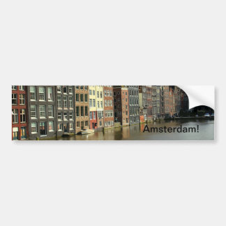 Amsterdam, Países Bajos Etiqueta De Parachoque