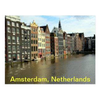 Amsterdam, Países Bajos Tarjeta Postal