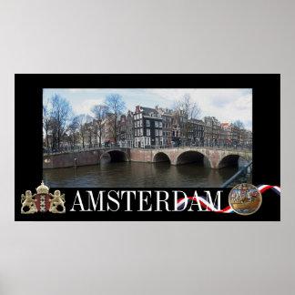 Amsterdam Photo Poster