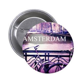 Amsterdam Pin Redondo De 2 Pulgadas