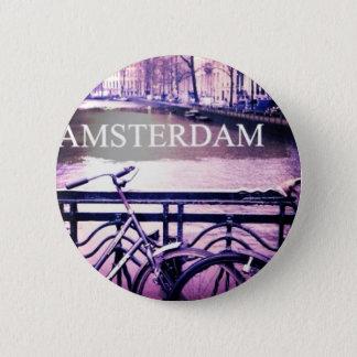 Amsterdam Pinback Button