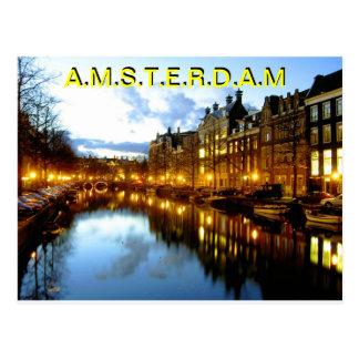 AMSTERDAM Postcard BY MOJISOLA A GBADAMOSI