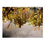 Amsterdam reflection post card