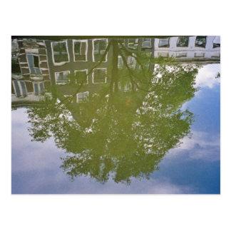 Amsterdam Reflection Postcard