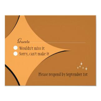 Amsterdam Response Card:  Sorbet Personalized Invitations
