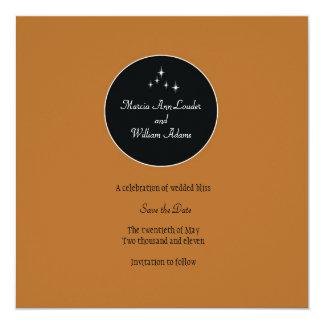Amsterdam Save the Date: Sorbet Custom Invitation