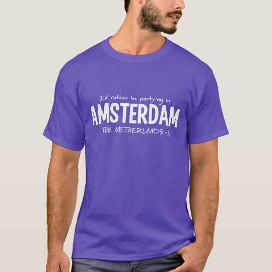 AMSTERDAM shirt - choose style & color