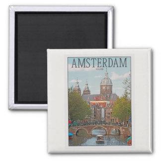 Amsterdam - Sint Nicolaaskerk Refrigerator Magnet