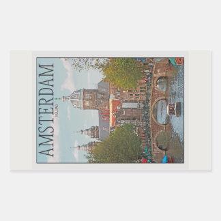 Amsterdam - Sint Nicolaaskerk Rectangular Sticker