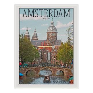 Amsterdam - Sint Nicolaaskerk Tarjeta Postal