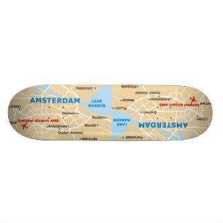 Amsterdam Skateboard by Missi Lynn Boness