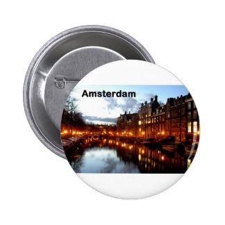 Amsterdam (St.K) Pin Redondo De 2 Pulgadas