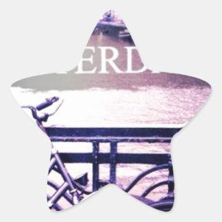 Amsterdam Star Sticker