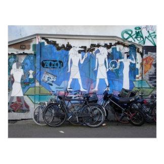 Amsterdam Street Art Postcard