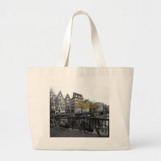 Amsterdam street canvas bags