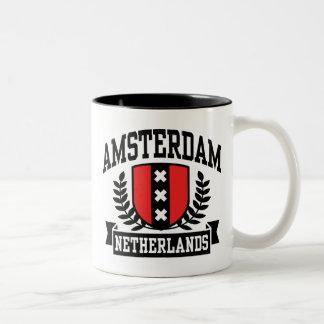 Amsterdam Taza De Dos Tonos