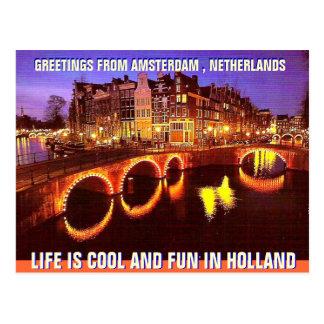 AMSTERDAM , THE NETHERLAND BY MOJISOLA A GBADAMOSI POSTCARD