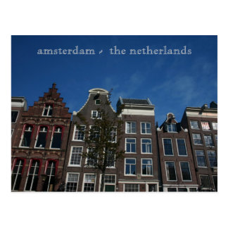 amsterdam -  the netherlands postcards