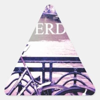 Amsterdam Triangle Sticker