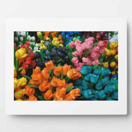 Amsterdam Tulips Plaque