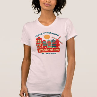 Amsterdam Venice of the North T-Shirt