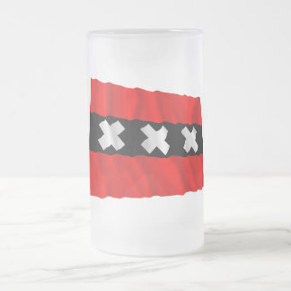 Amsterdam Waving Flag Mugs