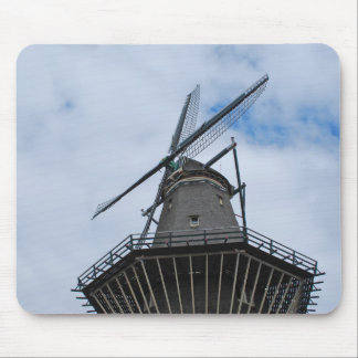 Amsterdam Windmill with Blue Sky Mouse Pad