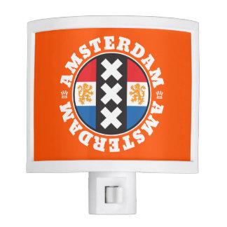 Amsterdam XXX City Symbol with Dutch Flag Nite Light