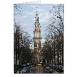 Amsterdam Zuiderkerk (Southern Church) Photo Card
