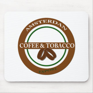 Amsterdan coffee mouse pad