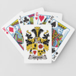 Amthor Family Crest Bicycle Poker Cards