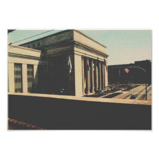 Amtrak Philadelphia 30th Street Station Poster