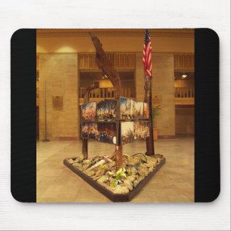 Amtrak Railroad 911 Memorial Monument Mouse Pad