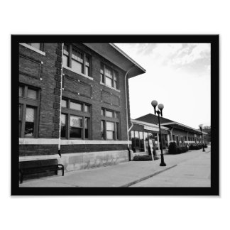 Amtrak Train Station Photo Print