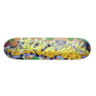Amuck Abstract Graffiti Wall Skateboards