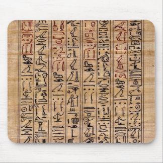 Amulet Hieroglyphs Mouse Pad